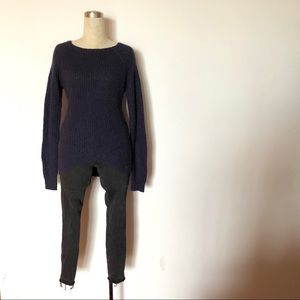 Maison Scotch - Navy Knit Sweater
